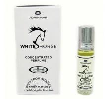 МАСЛЯНЫЕ РОЛИКОВЫЕ ДУХИ WHITE HORSE (ВАЙТ ХОРС, БЕЛАЯ ЛОШАДЬ) BY AL REHAB, 6 ML