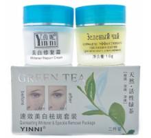 Китайский крем Зеленый чай Yinni от пигментных пятен